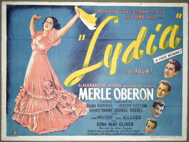 Merle oberon movie